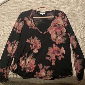 Aritzia (Wilfred) Floral Tee